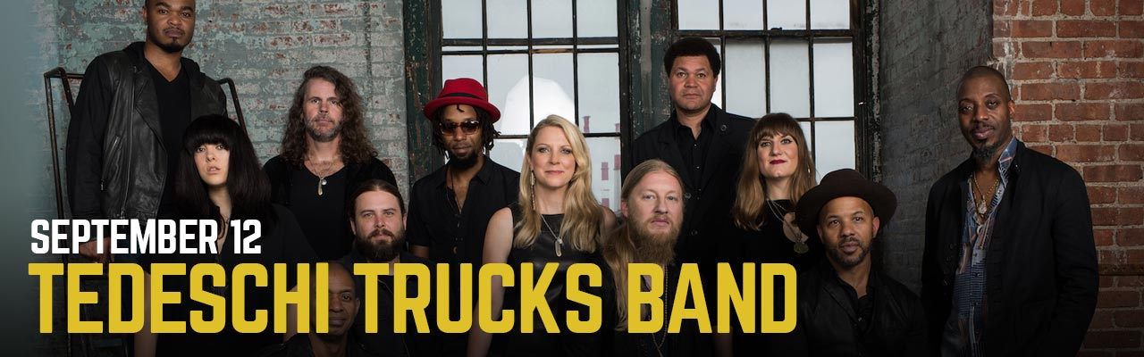 September 12: Tedeschi Trucks Band