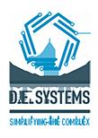 D.E. Systems Logo