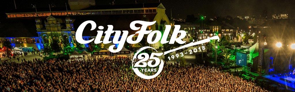 CityFolk Logo - 25 Years (1993 - 2018)