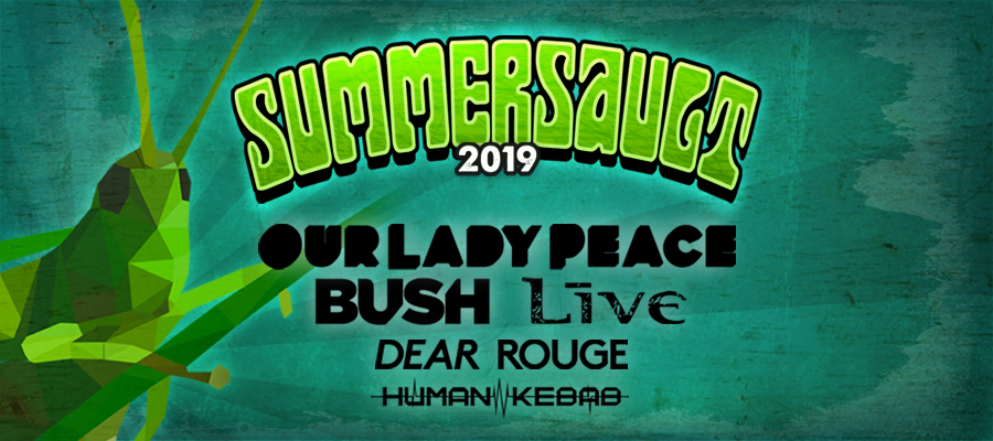 Summersault - Our Lady Peace +LIVE+ Bush