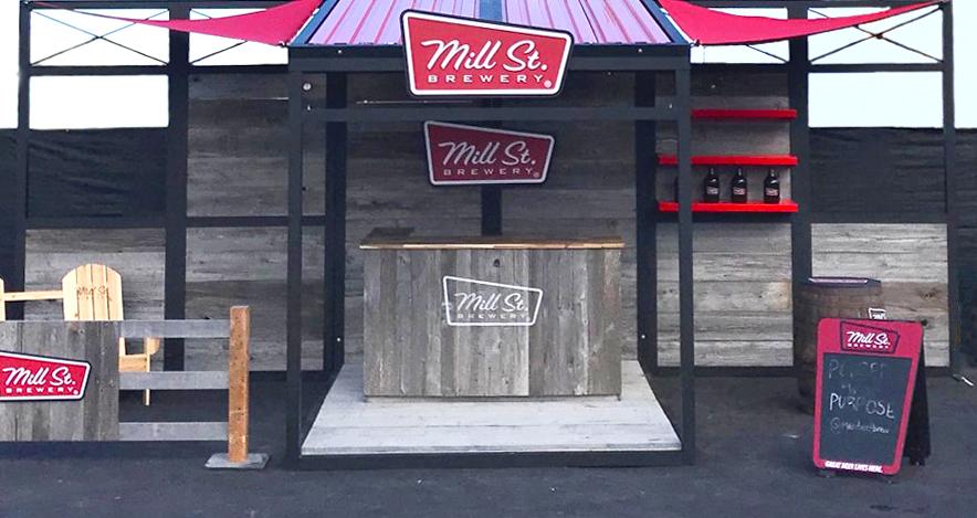 Mills Street Event Kiosk