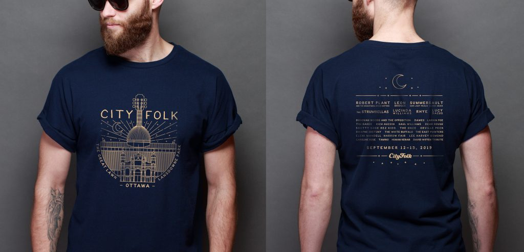 Cityfolk T-Shirt design